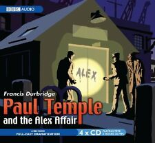 Paul Temple And The Alex Affair New Audio CD Book Francis Durbridge, Full Cast,