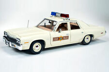 1/18 AUTOWORLD / ERTL - 1974 DODGE MONACO ILLINOIS STATE POLICE CAR Polizei