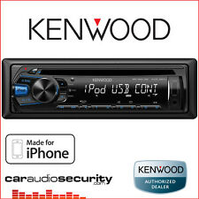 Kenwood KDC-261UB Car CD MP3 Stereo USB Aux In Radio Tuner iPod iPhone Android