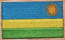 RWANDA Flag Embroidered PATCH Badge