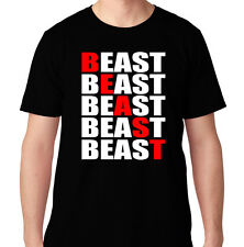 BEAST TIMES FIVE BENCH GYM FUNNY CROSSFIT HEALTH RUNNING WORKOUT TRAIN T SHIRT