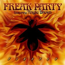 """FREAK PARTY Feat. Angie Brown 'FIREFLY' 7"""" VINYL (2016)"""