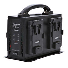 Sony V-lock Power Supply 4 Channel Video Camera Battery Charger for camera video