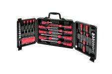 60pc Combination Screwdriver Set Storage Case Hex Skank Pozi Spanner Socket Flat