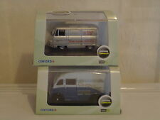 OXFORD DIECAST COLLECTION OF 2 COMMER VANS