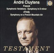 Andre Cluytens Conducts Franck & d'Indy (CD, Testament, AM)
