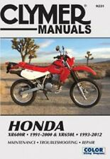 Cylmer Repair Service Shop Manual Vintage Honda XR600R 1991-2000 XR650L 1993-12