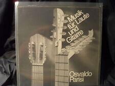 Osvaldo Parisi - Musik für Laute und Gitarre