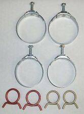 NEW 1966 Chevy Passenger Car Radiator And Heater Hose Clamp Set (Small Block)
