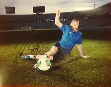 DANIELE DE ROSSI SIGNED AUTOGRAPHED 11x14 PHOTO ITALY ITALIA AS ROMA PROOF