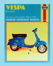 Man126 Haynes Manual Vespa Scooter 1959 A 1978