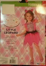 Child Toddler and Kids Little Leopard Girls Costume - Cat Costumes 2T