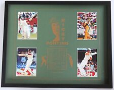 New Ricky Ponting Collectors Memorabilia Framed
