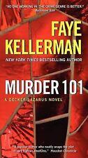 Murder 101: A Decker/Lazarus Novel , Kellerman, Faye