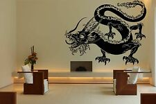 Wall Room Decor Art Vinyl Sticker Mural Decal Monster Dragon China Pattern FI666