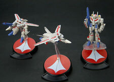 Yamato Macross VFC Robotech VF-1J Valkyrie 3 Figure Set NEW US SELLER