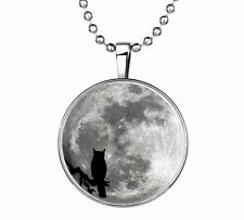 Vogue Punk Style Owl Glow in the Dark Stainless Steel Necklace Pendant NEW !