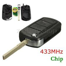 3 Button Remote Key Car Fob Chip 433MHz For Land Rover Discovery 3 RANGE ROVER