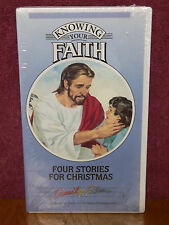 Knowing Your Faith - Four Stories for Christmas VHS Video Christianity BRAND NEW