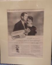 Original Vintage Advert mounted ready to frame Parker Liquid Lead Pen 1956