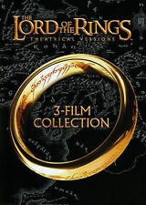 The Lord of the Rings: 3-Film Collection (DVD, 2014, 3-Disc Set, Theatrical V...