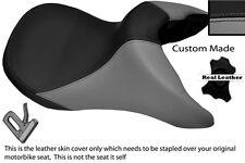 Negro Y Gris Personalizado Para Bmw R 850 R 95-07 delantera cubierta de asiento