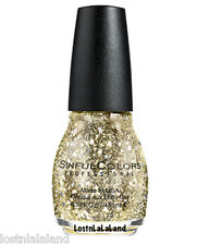 SINFUL COLORS PROFESSIONAL NAIL POLISH HOLIDAY 2015 # 1568 STAR STUDDED