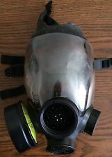 MSA Air Gas Mask Steampunk Costume Parts Post Apocalyptic One Cylinder Filter