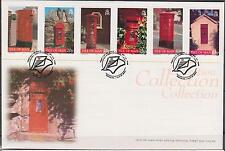 GB - ISLE of MAN 1999 Collection Manx Post Boxes SG 824/9 FDC