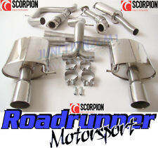 Scorpion Mondeo 2.5T Exhaust System Stainless Turbo Back Downpipe & Sports Cat