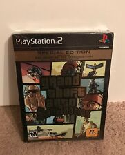 Grand Theft Auto: San Andreas SPECIAL EDITION NEW SEALED! RARE (2005) Sony PS2