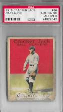 1915 Cracker Jack Napoleon Lajoie #66 PSA A Altered Cleveland