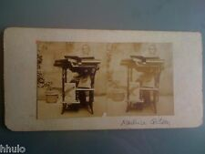 STC278 Maurice Gilson stereoview photo STEREO Vintage ancien
