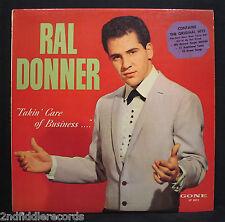 RAL DONNER-Takin' Care Of Business-Rockabilly Album-GONE #LP 5012