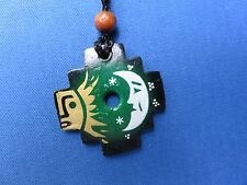 South American Inca Cross CERAMIC NECKLACE CHAKANA ..NEW DESIGNS FROM PERU M