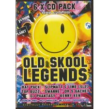 OLD SKOOL LEGENDS VOL 1 RAVE HARDCORE JUNGLE 6 CD PACK