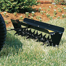 """Spike Aerator - Tow Behind - 30"""" - Includes Hitch Pin - 64 Spikes - 50 lbs cap"""