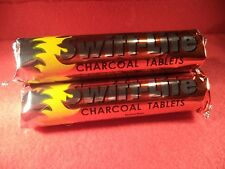 Three (3) Swift-Lite 33mm Charcoal Rolls (10 disks ea) for incense, wicca, herbs
