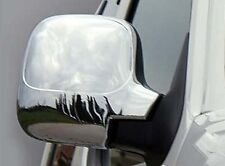 TO FIT CITROEN BERLINGO 96-08 CHROME DOOR WING MIRROR TRIM SET COVERS SURROUNDS