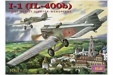 ICM 72051 1/72 I-1 (IL-400b) First Soviet Fighter-Monoplane