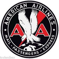 Vintage Old Style Sign Magnet American Airlines Porcelain Old Style Logo NEW