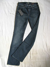 7 SEVEN for all MANkiND Damen Blue Jeans Stretch W25/L32 high waist bootcut