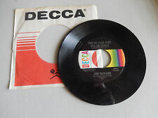 JAN HOWARD bad seed / you go your way i'll go crazy DECCA sleeve   45