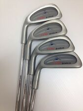Pro Select Junior 4 Piece Iron Set- Left Handed- Age 6 to 9- Steel Shafts*NEW*