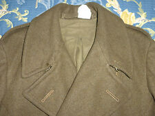 DATED 1943 RARE XL WINDPROOF TWEED CROMBIE COAT JACKET WW2 CC41 ERA 42 44 VTG