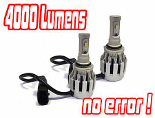 9006 Hb4 Cree LED Headlight Bulbs Headlamp Conversion Kit Hid Toyota Iq 09+