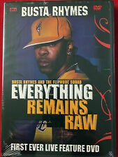 Busta Rhymes - Everything Remains Raw: Live (DVD, 2004) Flipmode Squad (Rap) NEW