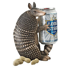Armadillo Beverage Beer Soda Can Holder