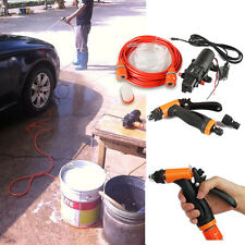 100w Portable 160PSI car clean washer high pressure with car Electric water pump