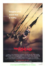 THE HOWLING MOVIE POSTER Original Folded 27x41 N.Mint !! HORROR CLASSIC !!!